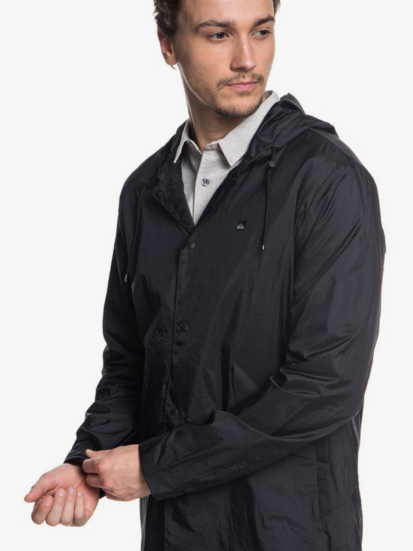 Qpak - Water-Resistant Packable Coaches Jacket for Men  EQYJK03430