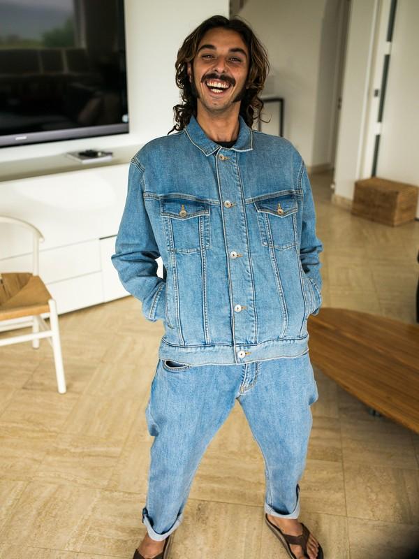 0 Джинсовая куртка Originals Синий EQYJK03466 Quiksilver