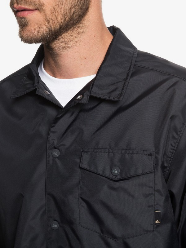 50Y - Water-Repellent Coach Jacket for Men EQYJK03483