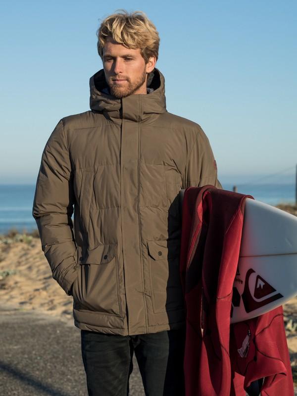 Barrington - Hooded Waterproof Puffer Jacket for Men EQYJK03498
