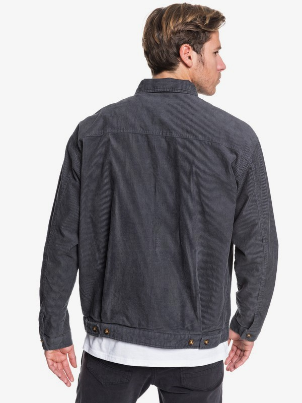 Yallingup - Zip-up Corduroy Jacket for Men  EQYJK03501