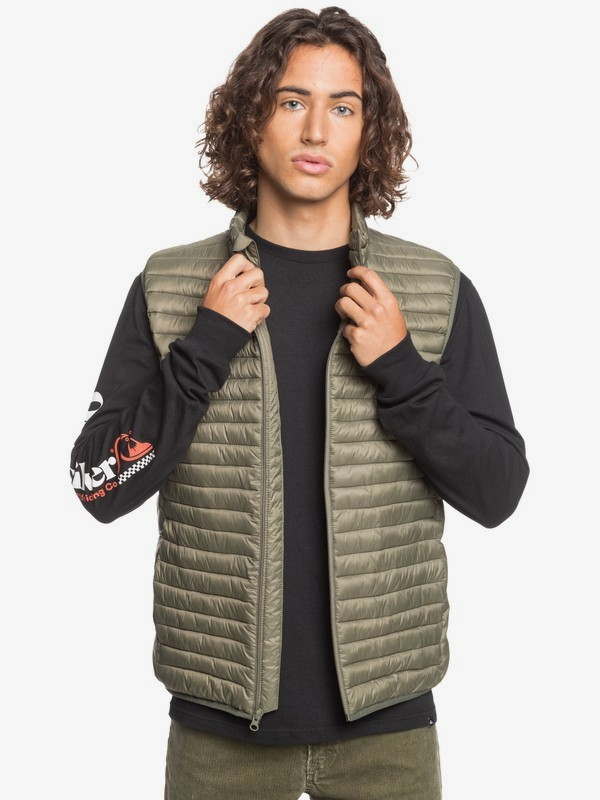Scaly Sleeveless - Lightweight Body Warmer for Men  EQYJK03502