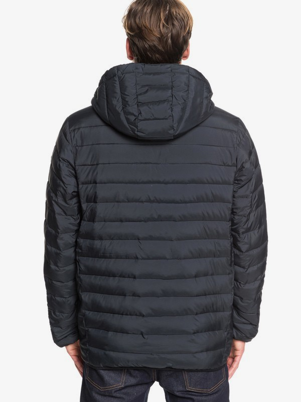 Scaly - Hooded Puffer Jacket EQYJK03504