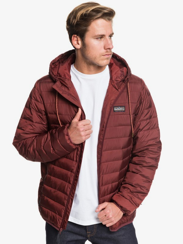 Scaly - Hooded Puffer Jacket for Men  EQYJK03504