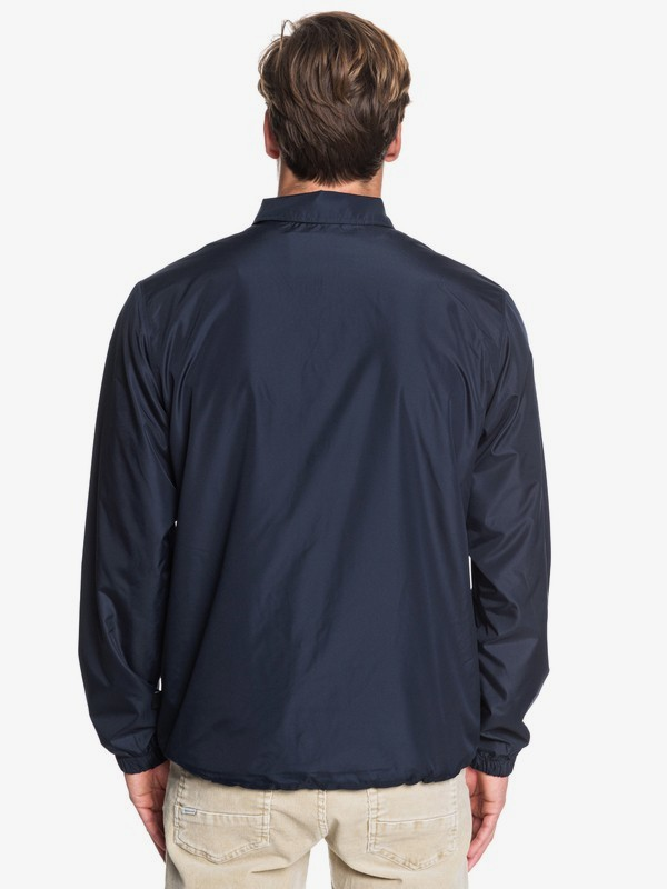 Surf Coach - Water-Resistant Coached Jacket for Men  EQYJK03505