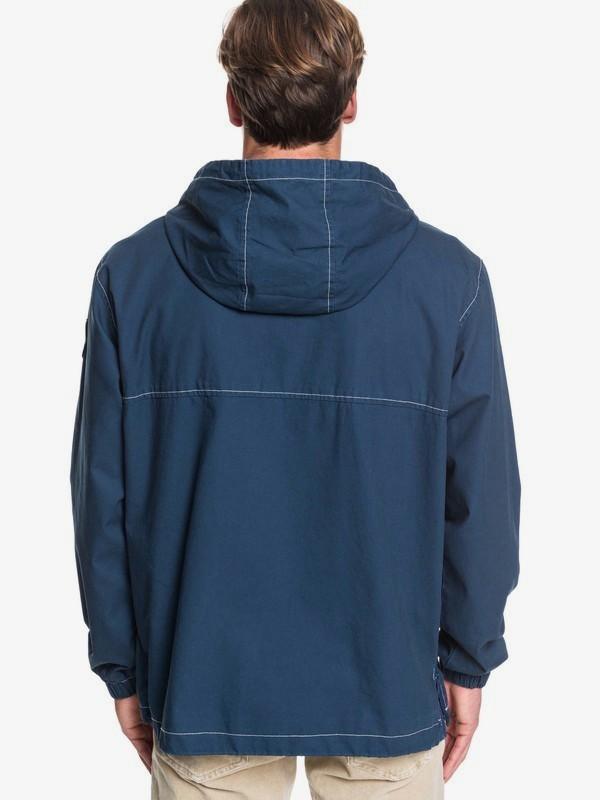 Tazawa Wash - Hooded Anorak for Men  EQYJK03511