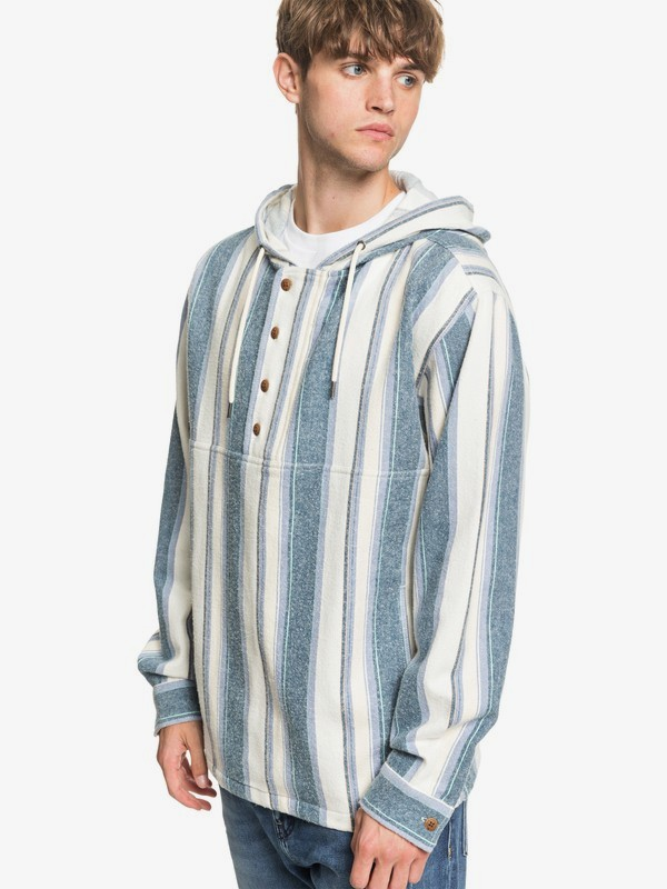 Neo Blue - Flannel Hoodie  EQYJK03542