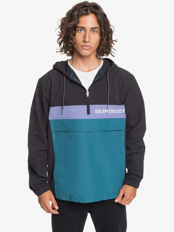 Expression Session - Water-Resistant Hooded Anorak for Men  EQYJK03584