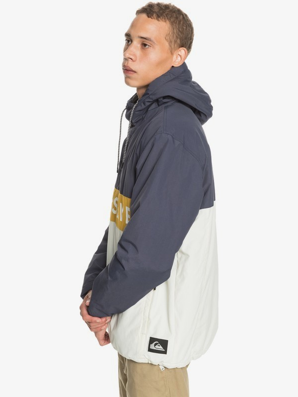 New Tazawa - Water-Resistant Hooded Anorak for Men  EQYJK03586