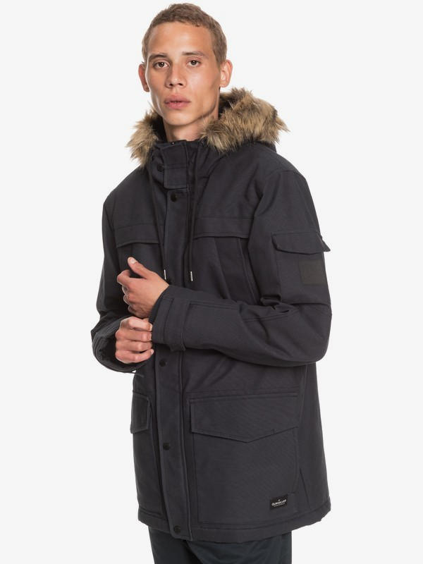 Storm Drop 5K - Water-Resistant Parka for Men  EQYJK03589