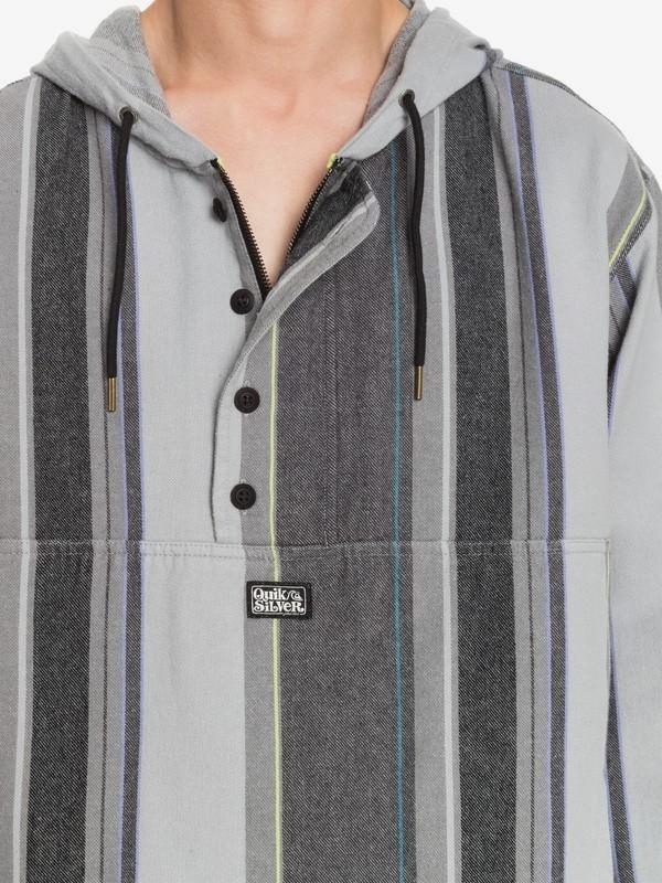 Neo Blue - Twill Anorak for Men  EQYJK03591