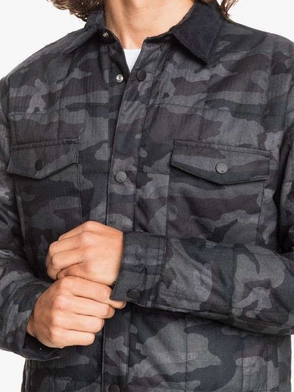 Broken Nose - Quilted Overshirt for Men  EQYJK03612