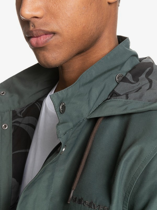 60/40 In Dub - Water-Resistant Parka Jacket for Men  EQYJK03658
