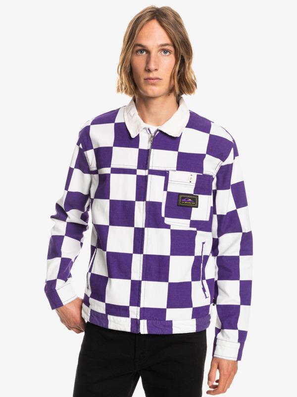 Originals Box Checker - Organic Checked Jacket for Men  EQYJK03674