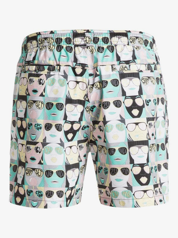 "Michael Leon X Arkitip Spot Check Fruit Bat 16"" - Swim Shorts  EQYJV03101"