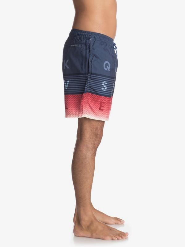 """Word Block 17"""" - Swim Shorts for Men  EQYJV03300"""