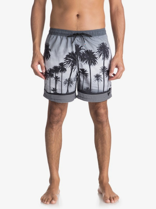 "Sunset Vibes 17"" - Swim Shorts for Men  EQYJV03303"