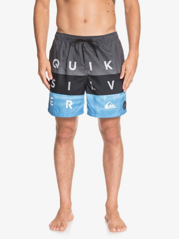 "Word Block 17"" - Swim Shorts for Men  EQYJV03405"