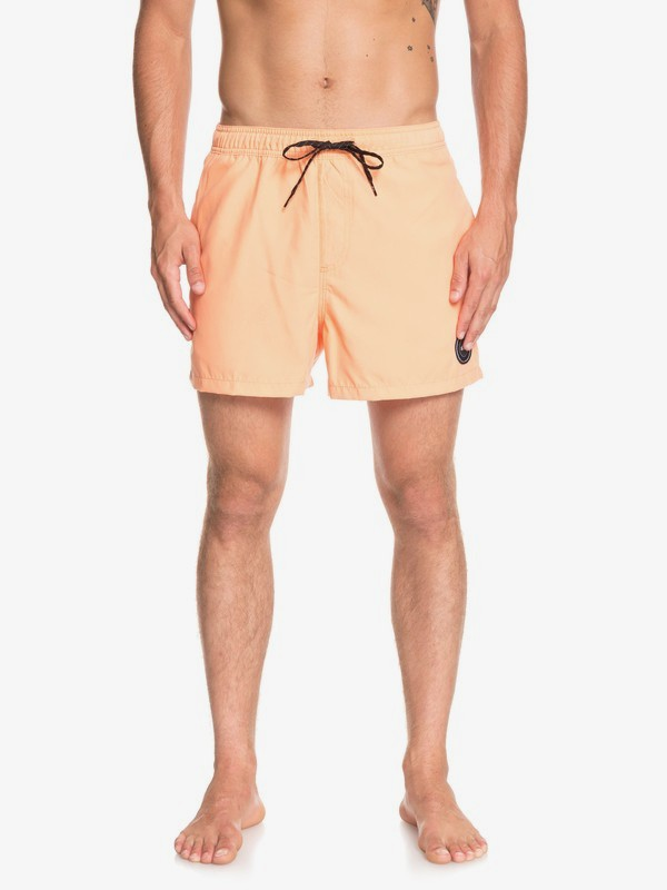 "0 Everyday 15"" - Swim Shorts for Men Orange EQYJV03407 Quiksilver"