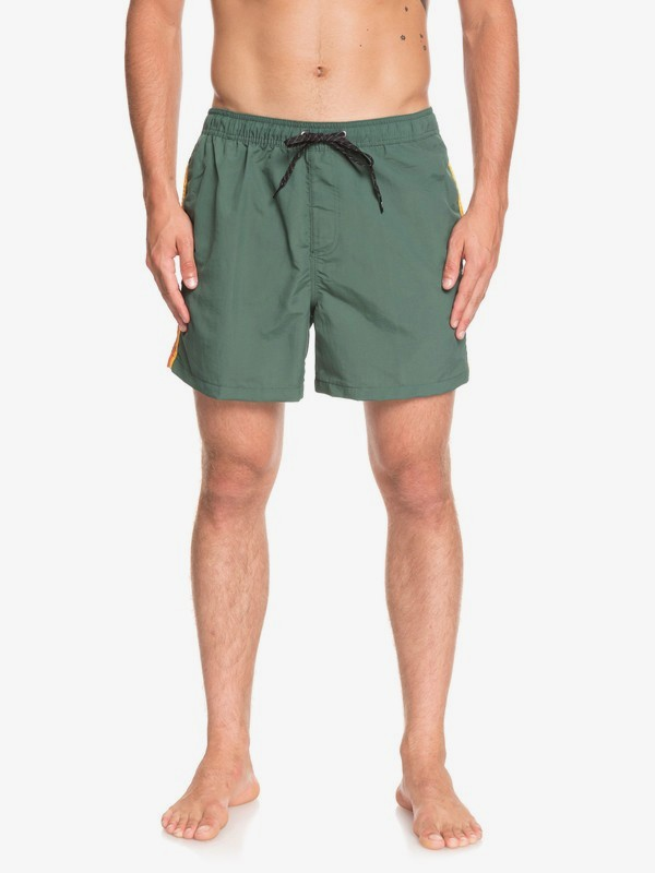 "0 Vibes 16"" - Swim Shorts for Men Green EQYJV03411 Quiksilver"