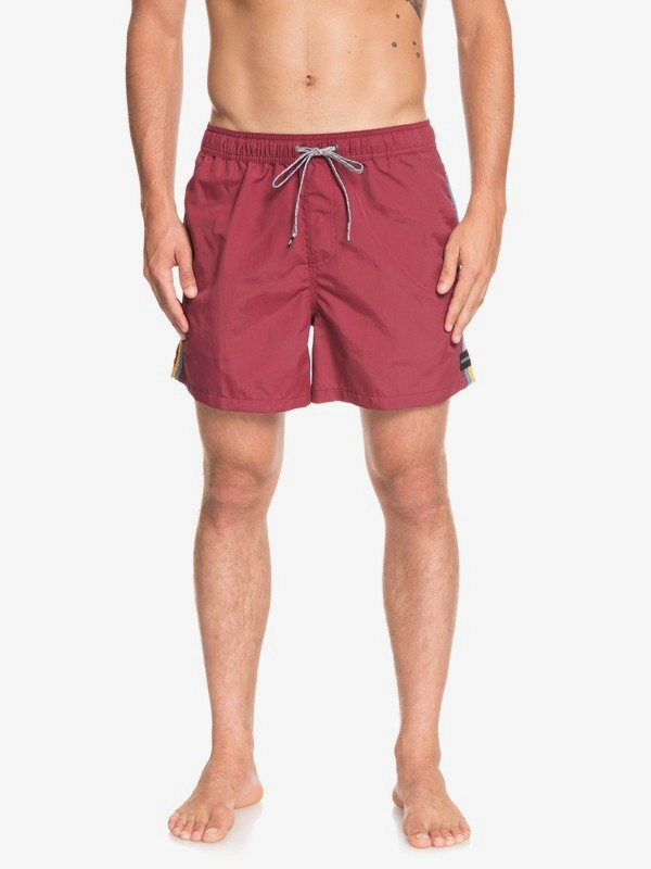 "0 Vibes 16"" - Swim Shorts for Men Red EQYJV03411 Quiksilver"