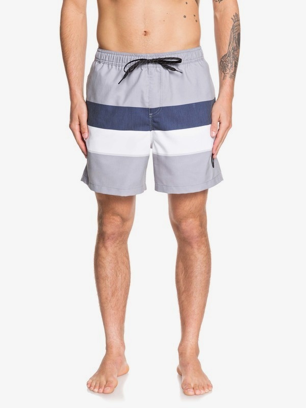 "0 Seasons 17"" - Swim Shorts for Men Grey EQYJV03479 Quiksilver"