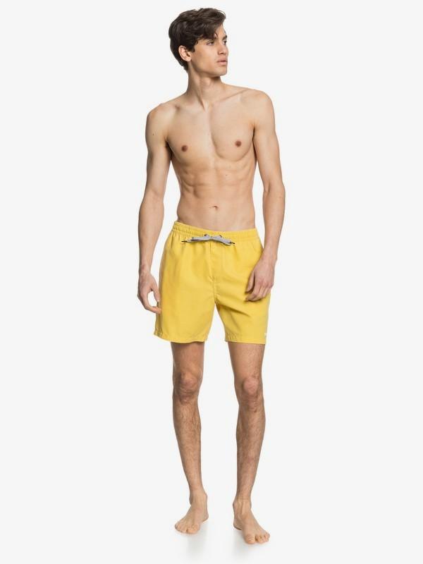 """Surfwash 17"""" - Swim Shorts for Men  EQYJV03538"""