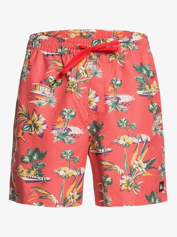 """Vacancy 17"""" - Swim Shorts for Men  EQYJV03560"""