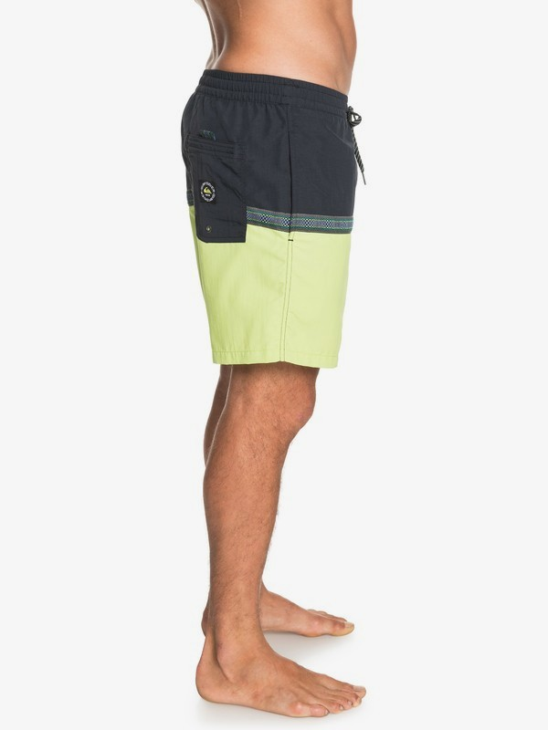 "Disrupted 17"" - Swim Shorts for Men  EQYJV03632"