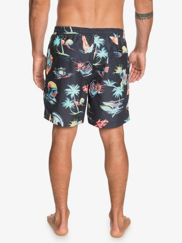 """Sun Damage 17"""" - Swim Shorts for Men  EQYJV03643"""