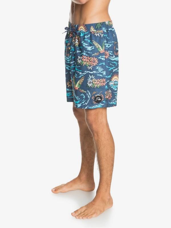 "Too Easy Volley 17"" - Swim Shorts for Men  EQYJV03670"