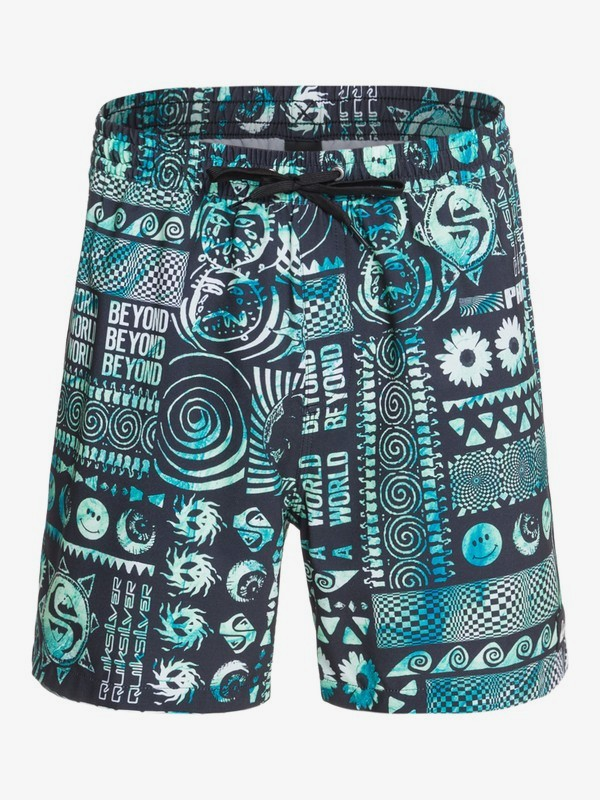 "Rave Wave 17"" - Swim Shorts for Men  EQYJV03672"