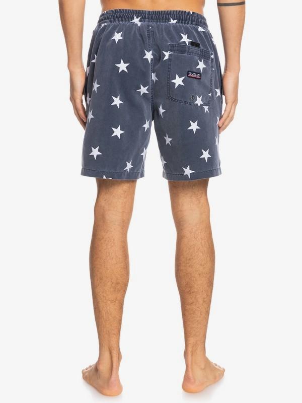 """Surfwash 17"""" - Swim Shorts for Men  EQYJV03691"""