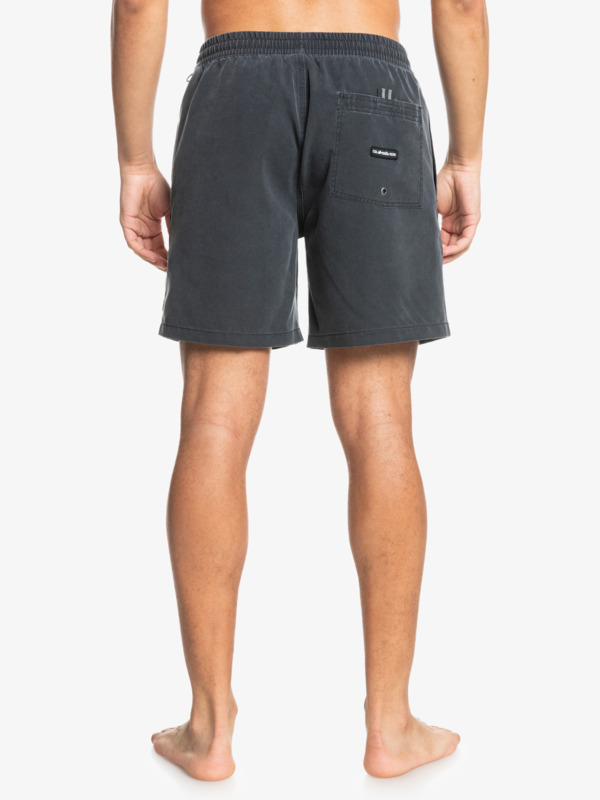 "Surfwash 17"" - Swim Shorts for Men  EQYJV03691"