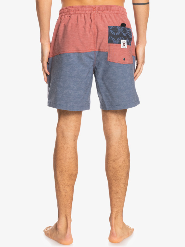 """Division Threads 17"""" - Recycled Swim Shorts for Men  EQYJV03779"""