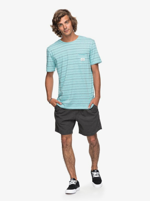 Quiksilver Zermet Short Sleeve T-Shirt in Vintage and Grindle