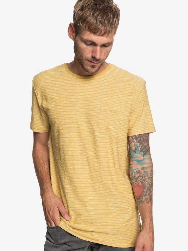 0 Ken Tin - Camiseta para Hombre Amarillo EQYKT03687 Quiksilver