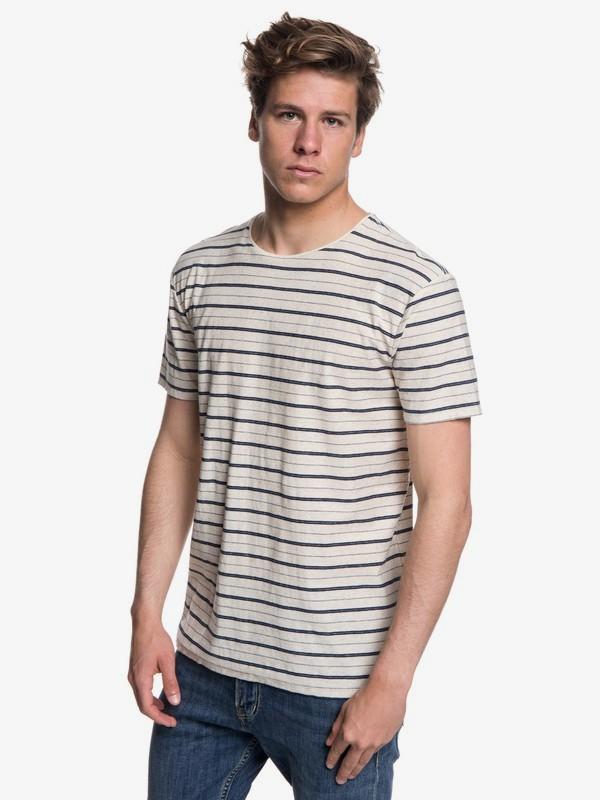 0 Sunshine City - Camiseta para Hombre Azul EQYKT03767 Quiksilver