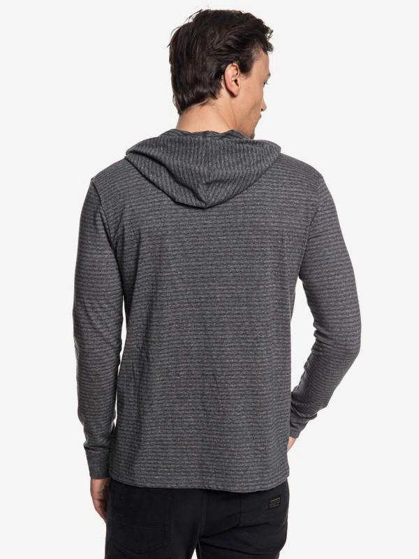Zermet - Long Sleeve Hooded T-Shirt for Men  EQYKT03781