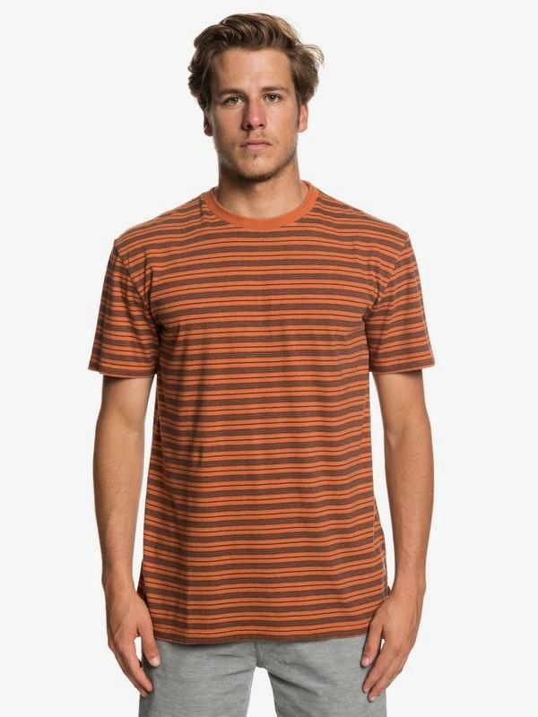 0 Deeper States - T-Shirt für Männer Orange EQYKT03833 Quiksilver