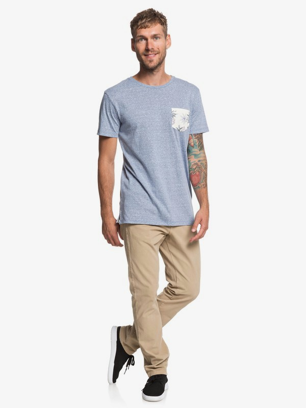 Broken Leash - Pocket T-Shirt for Men  EQYKT03862