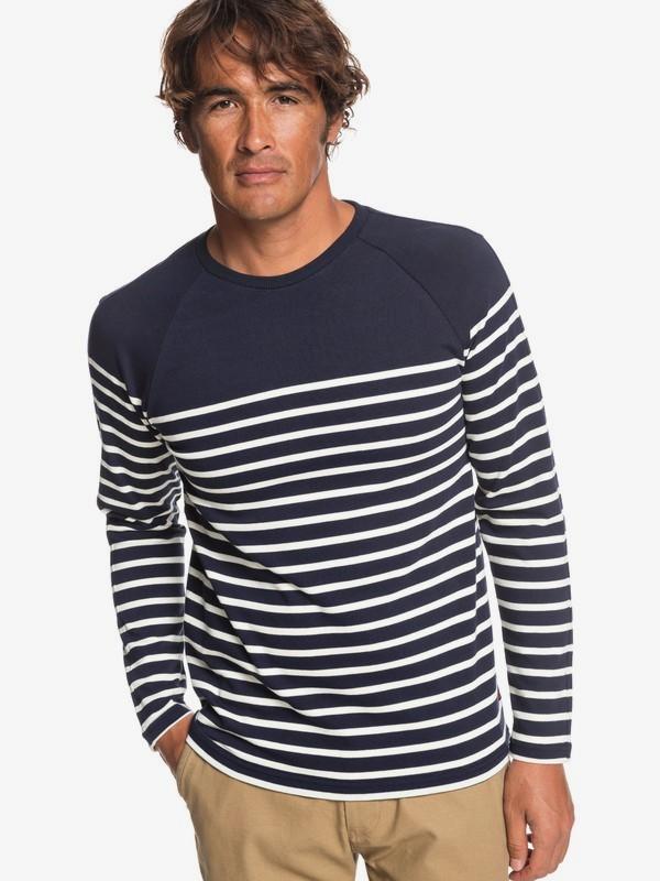 0 Patudo - Long Sleeve T-Shirt for Men Blue EQYKT03869 Quiksilver