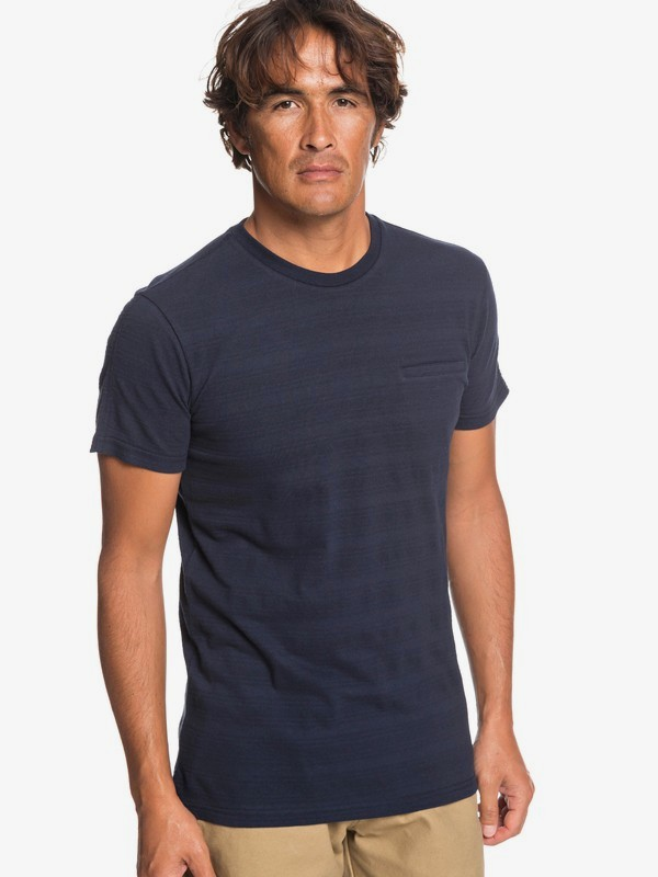 0 Playasun - T-Shirt for Men Blue EQYKT03870 Quiksilver