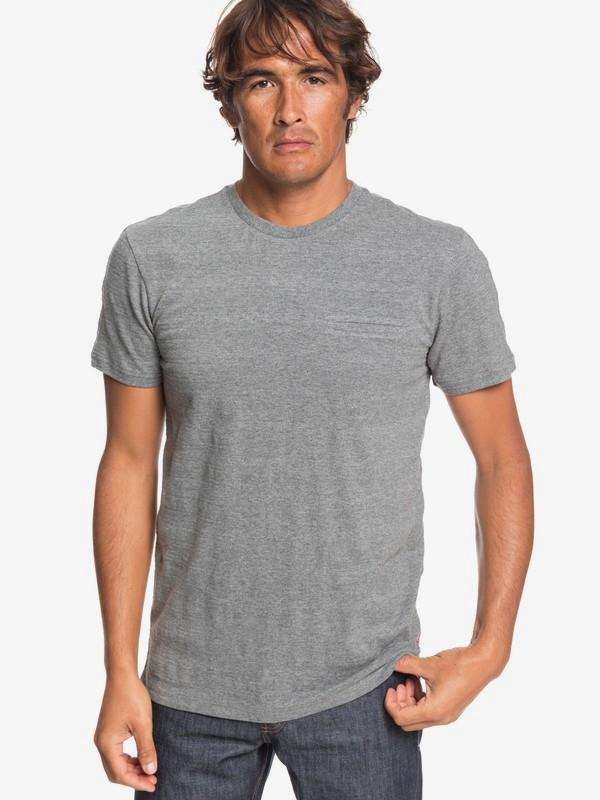 0 Playasun - T-Shirt for Men Grey EQYKT03870 Quiksilver