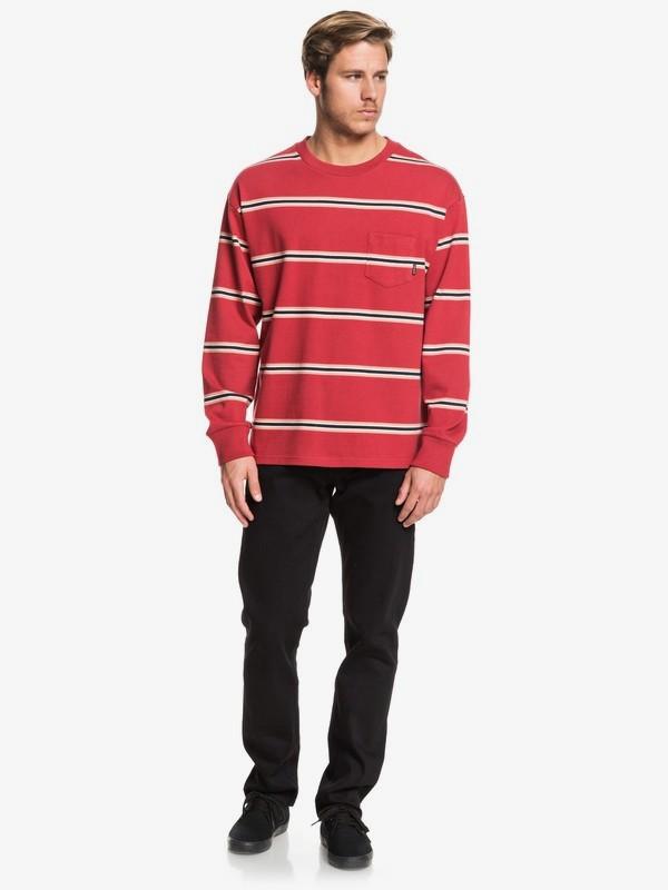 Barrel Way - Long Sleeve Pocket T-Shirt for Men EQYKT03908