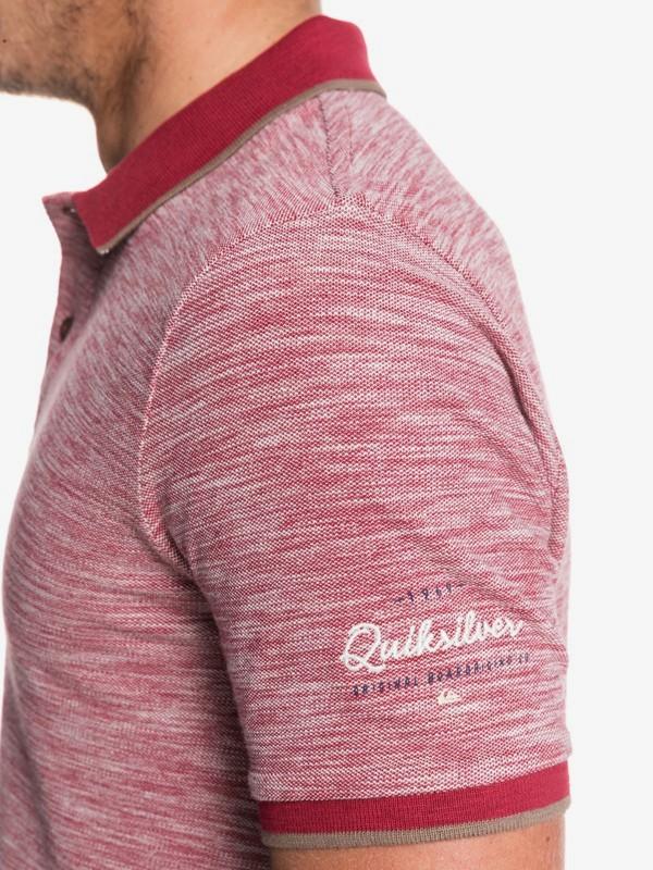 Burning Mountain - Short Sleeve Polo Shirt for Men  EQYKT03910