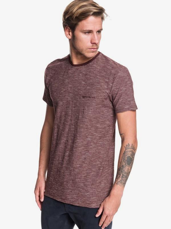 0 Ken Tin - Camiseta para Hombre Rojo EQYKT03930 Quiksilver