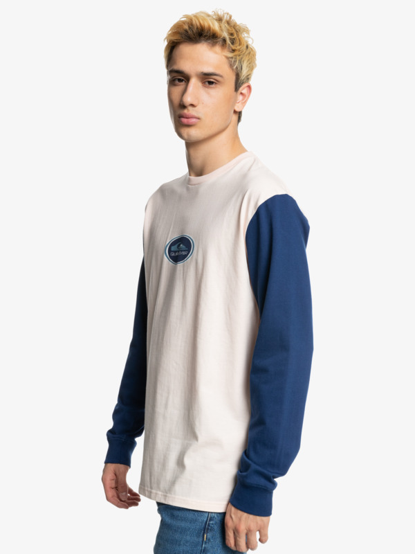 Colour Block - Long Sleeve T-Shirt for Men  EQYKT04165