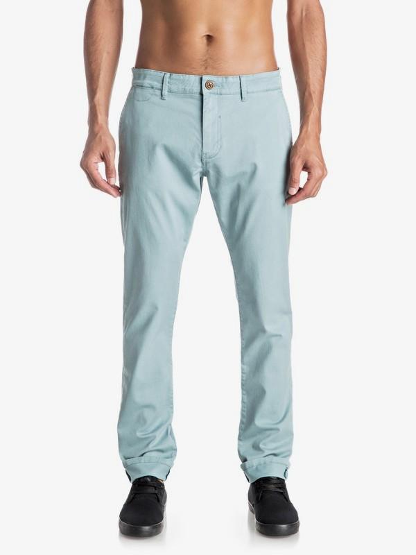 0 Krandy - Pantalon chino slim  EQYNP03108 Quiksilver