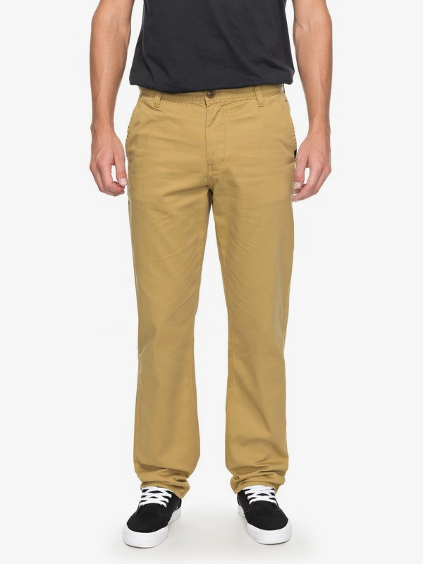 0 Everyday Light - Pantalón Chino para Hombre Marron EQYNP03136 Quiksilver